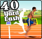 40-yard dash – screenshot