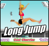 Long Jump Flash Game – Logo