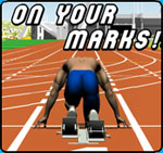 Image link to On Your Marks! reaction speed game